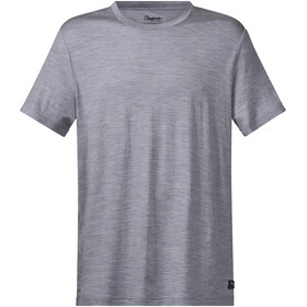 Bergans Oslo Wool Shortsleeve Shirt Men grey